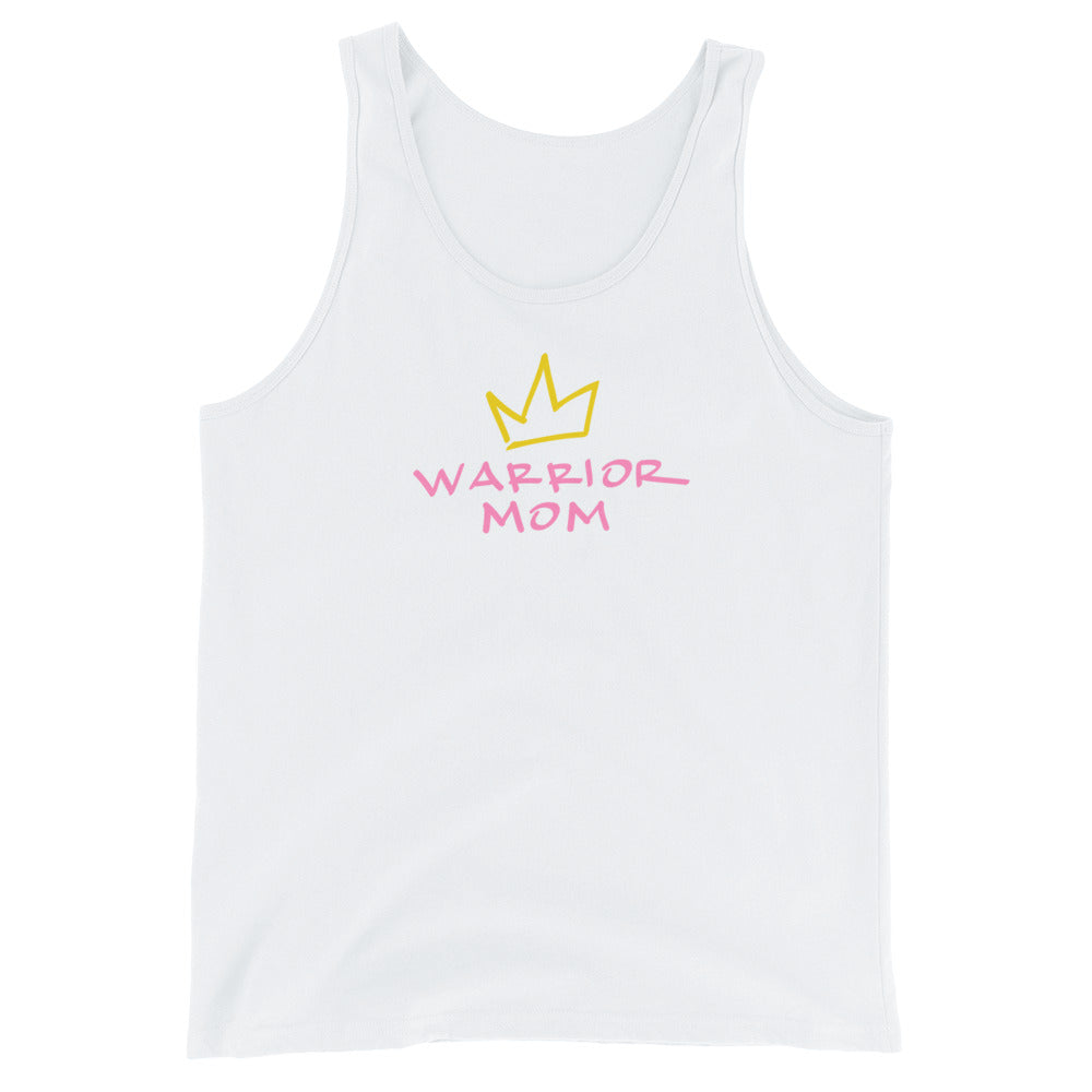 warrior mom jersey tank top.