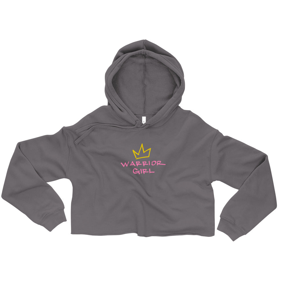 warrior girl crop hoodie.
