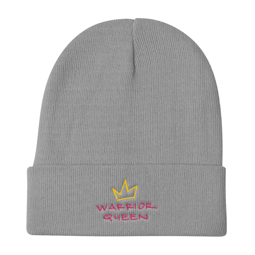 warrior queen knit beanie.