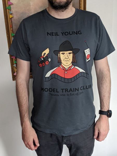 Neil young short Large size..