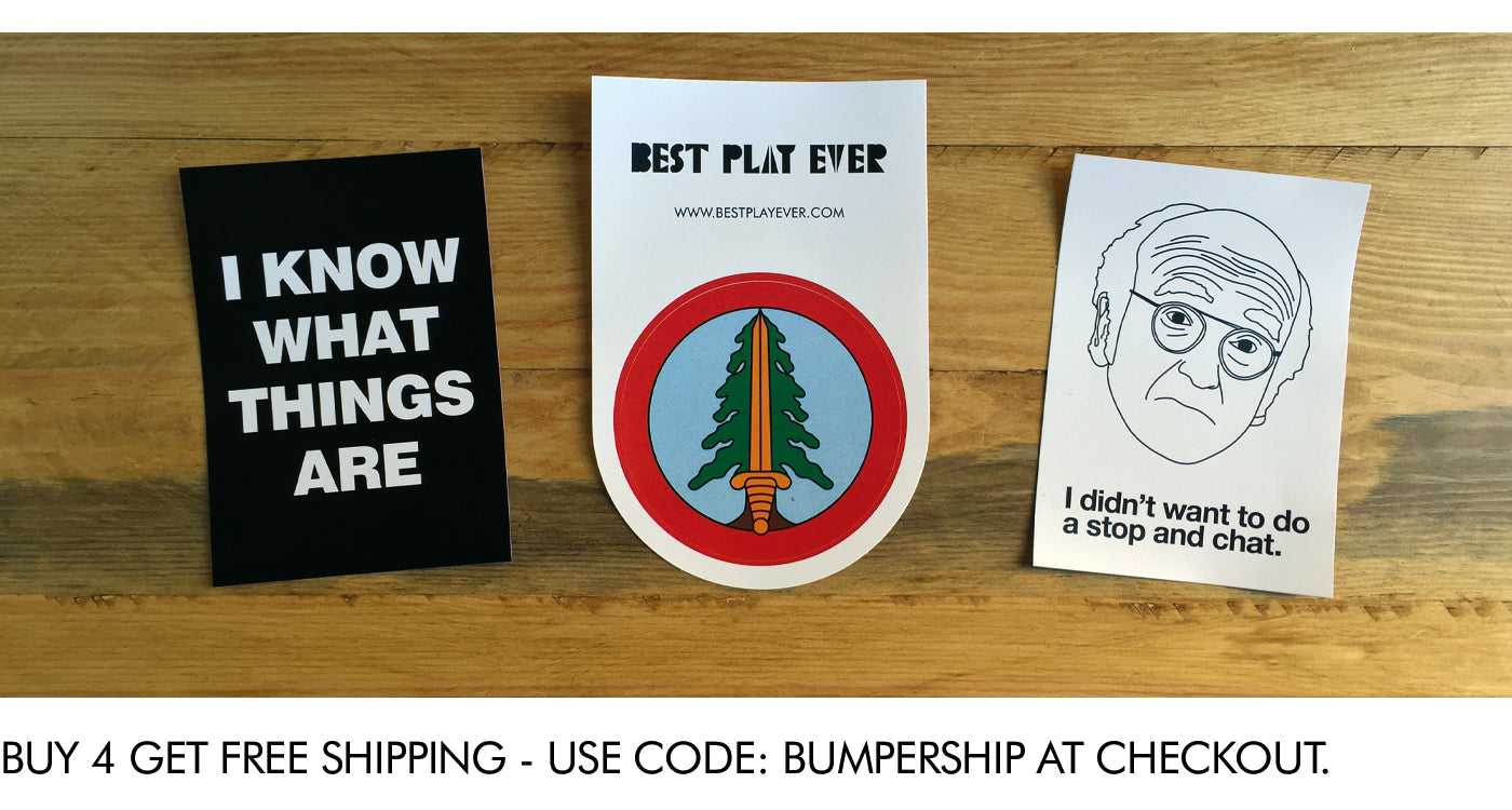 Tv Inspired stickers - Bestplayever - Offer