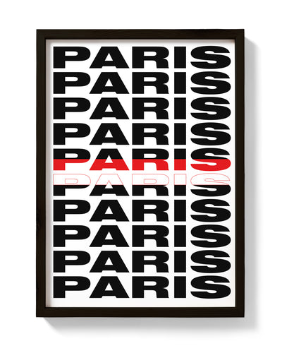 Paris Print! Cities Collection - bestplayever