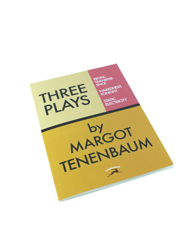 Three Plays by Margot Tenenbaum Notebook - bestplayever
