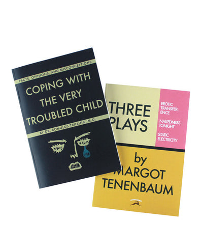 Wes Anderson Notebooks Set! - Moonrise Kingdom & The Royal Tenenbaums - bestplayever