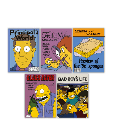 Simpsons Notebook Set #4 - bestplayever