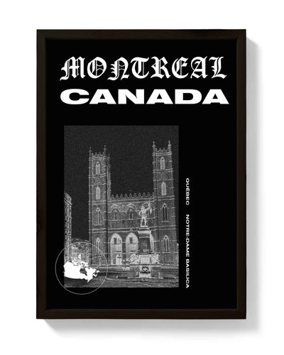 Montreal Print! Canada, Cities Collection - bestplayever