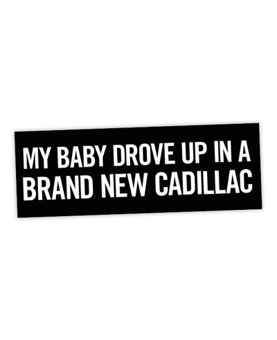 "The Clash ""Brand New Cadillac"" Sticker - bestplayever"