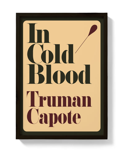 In Cold Blood First Edition Print - bestplayever