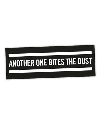 "Queen ""Another One Bites The Dust""  Sticker - bestplayever"