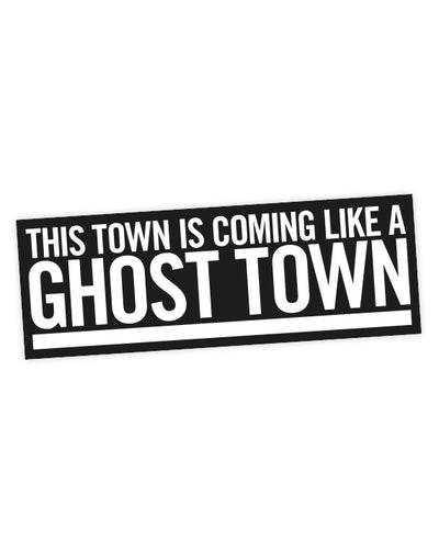 "The Specials ""Ghost Town"" Lyric Sticker - bestplayever"