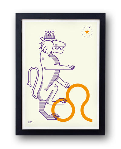 LEO Print! Signs of the Zodiac - bestplayever