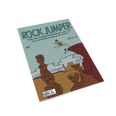 Rock Jumper Notebook - bestplayever