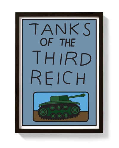Tanks of the Third Reich Print - bestplayever