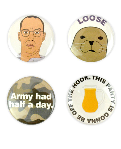 Buster Bluth Badges - bestplayever