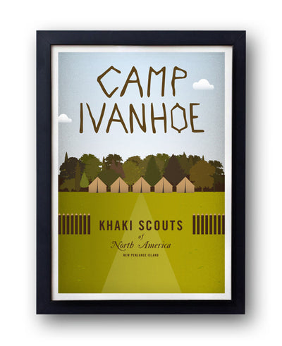 Moonrise Kingdom 'Camp Ivanhoe' Print - bestplayever