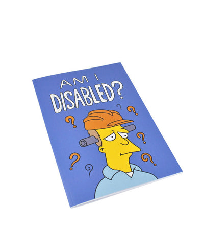 Am I Disabled Notebook - bestplayever