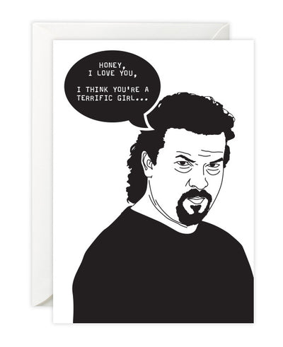 "Kenny Powers ""Clothes like a Fuckin' Dickhead"" Card - bestplayever"