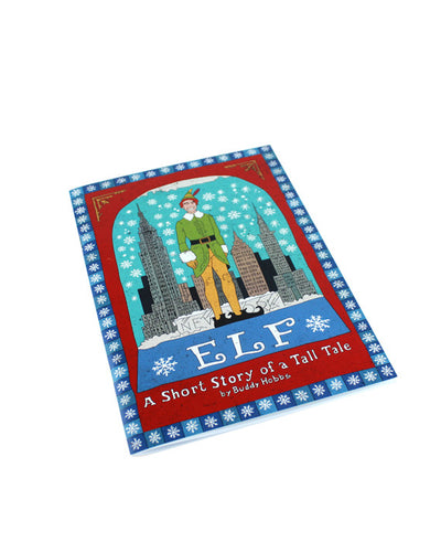Elf 'A Short Story of a Tall Tale' Notebook - bestplayever