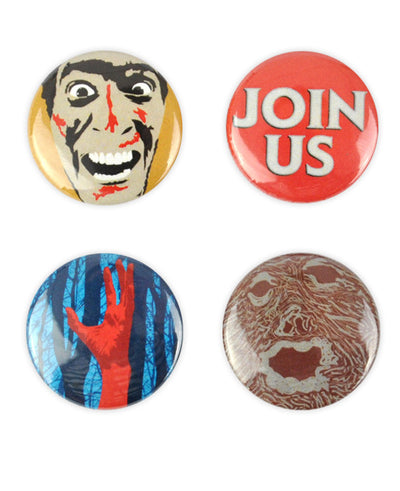 Evil Dead Badge Set - bestplayever