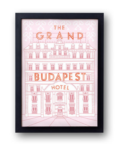 The Grand Budapest Hotel Print - bestplayever