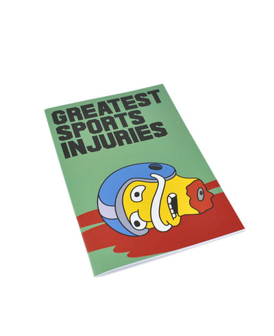 Greatest Sports Injuries, Notebook - bestplayever