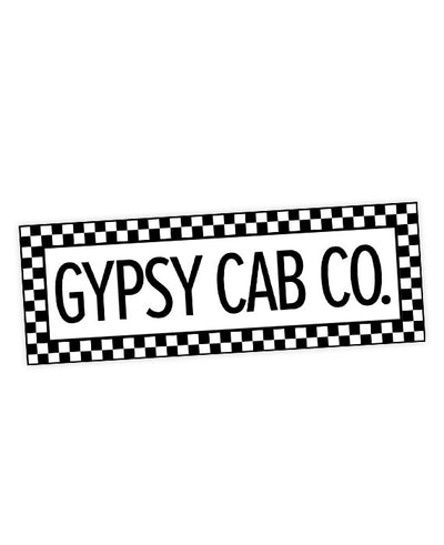 The Royal Tenenbaums Gypsy Cab Co Sticker - bestplayever