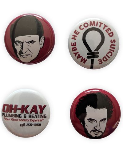 Home Alone badge set! BURGLERS SET - bestplayever