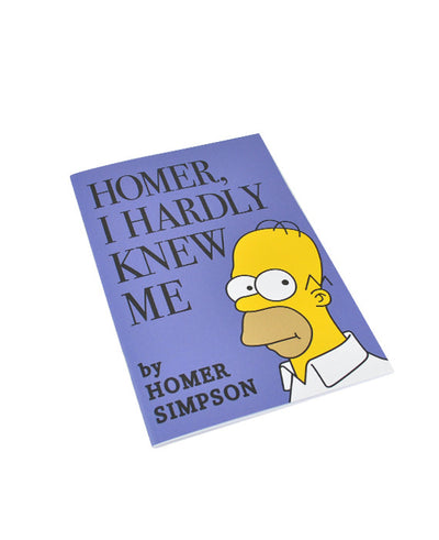Homer I Hardly Knew Me Notebook - bestplayever