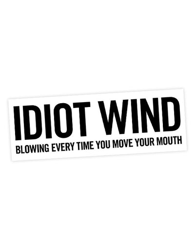 "Bob Dylan ""Idiot Wind"" Sticker - bestplayever"