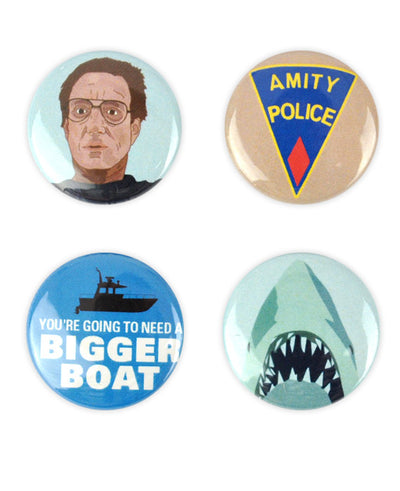 Jaws Badge Set - bestplayever