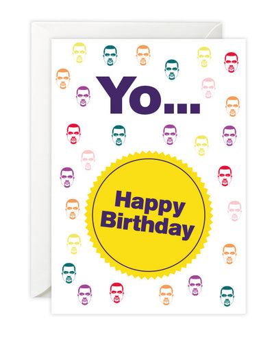Kanye West Birthday Card - bestplayever