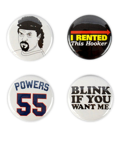 Kenny Powers Badges - bestplayever