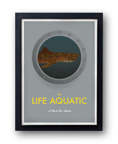 The Life Aquatic, Jaguar Shark Print - bestplayever