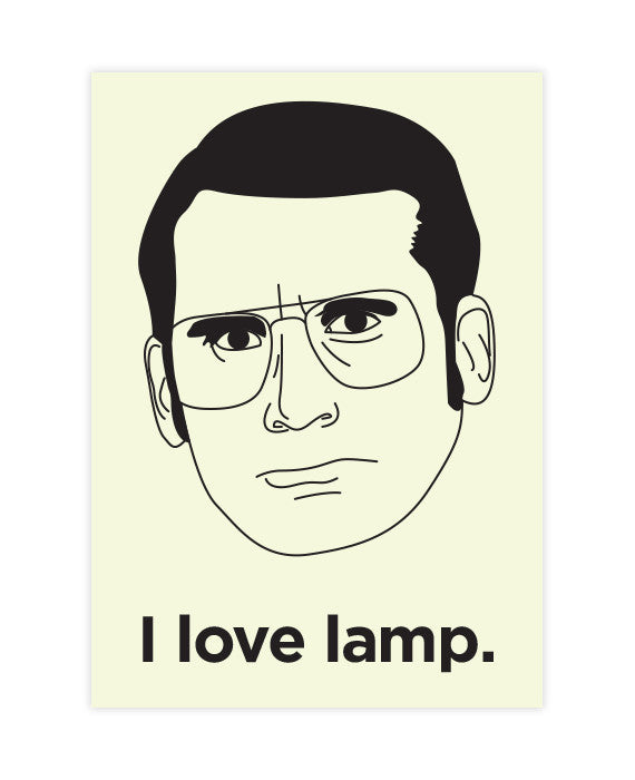 Anchorman Sticker Brick I Love Lamp ...