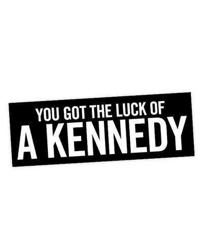 Vampire Weekend 'You Got The Luck Of A Kennedy' Lyric Sticker - bestplayever