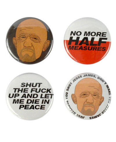 Mike Ehrmantraut Badges - bestplayever