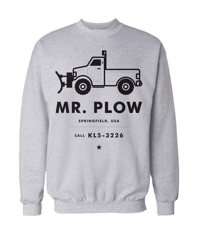 Simpsons Mr Plow Jumper - bestplayever