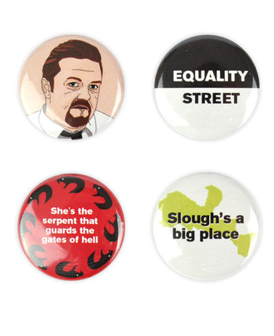 David Brent Badges - bestplayever