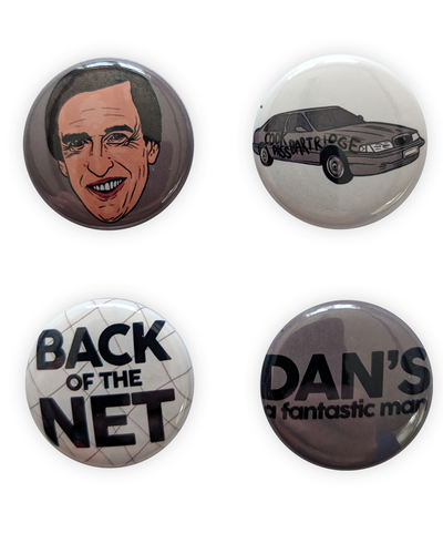 Alan Partridge badges - bestplayever