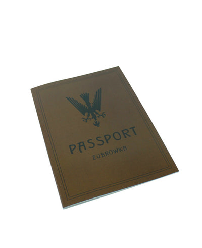 Zubrowka Passport Notebook - bestplayever