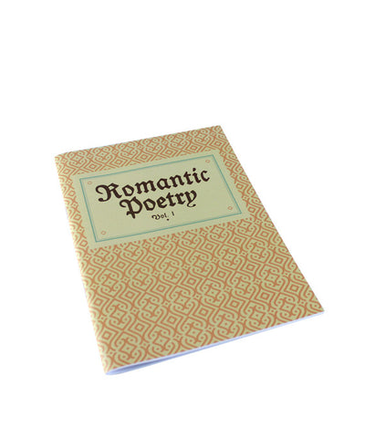 Grand Budapest Hotel 'Romantic Poetry Vol 1' Notebook - bestplayever