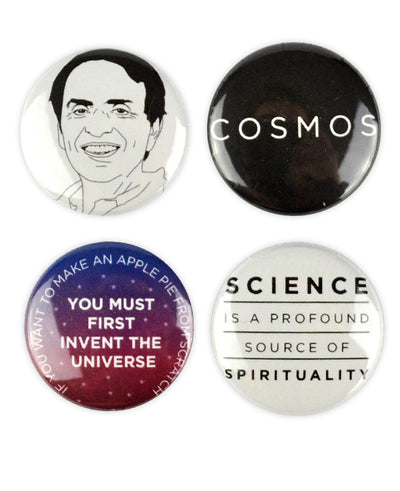 Carl Sagan Badges - bestplayever