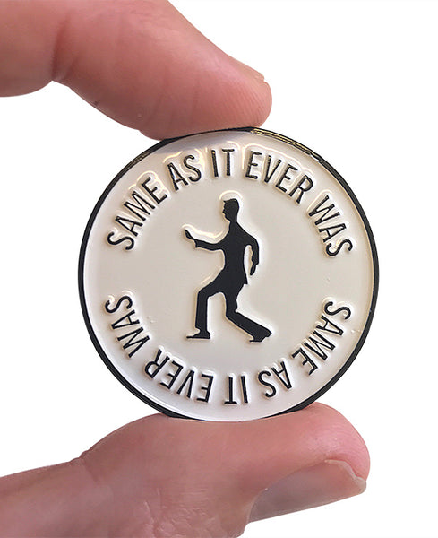 Same As It Ever Was Enamel Pin Talking Heads Inspired Pin Bestplayever Nghe bài hát same as it ever was chất lượng cao 320 kbps lossless miễn phí. same as it ever was enamel pin