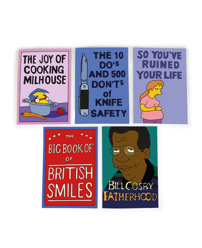 Simpsons Notebook Set #2 - bestplayever