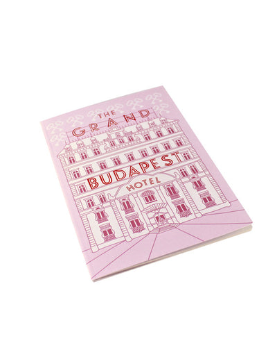 The Grand Budapest Hotel Notebook - bestplayever