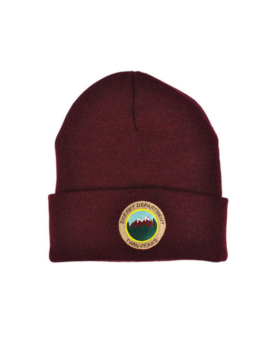 Twin Peaks Sheriff Department Knitted Beanie - bestplayever