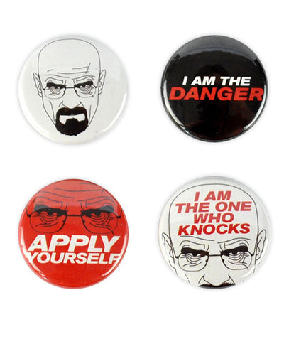 Walter White Badges - bestplayever