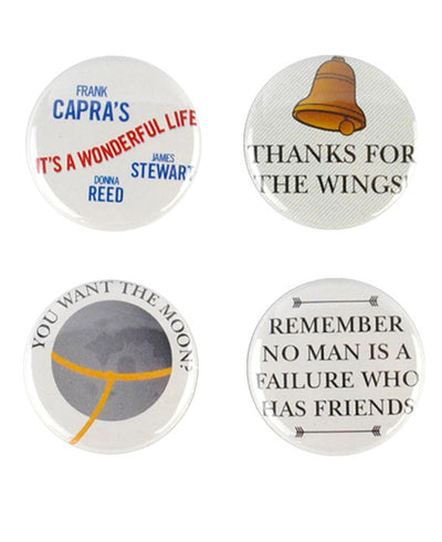It's A Wonderful Life Badge Set - bestplayever