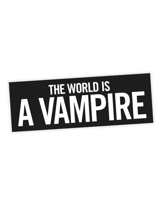 The world is a vampire sticker smashing pumpkins lyric
