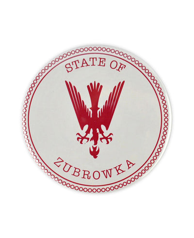 Large State of Zubrowka Badge (Grand Budapest Hotel) - bestplayever
